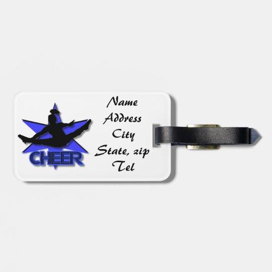 Blue Cheer luggage tag