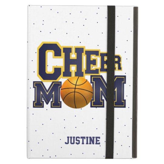 Blue Cheer Mom Basketball iPad Case