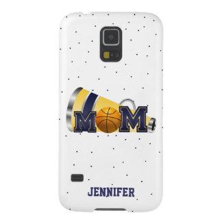 Blue Cheering Basketball Mom Samsung Galaxy S5Case Galaxy S5 Case