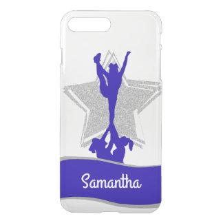 Blue Cheerleader Flyer personalized iphone 7 case