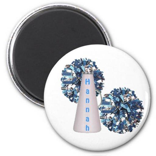Blue Cheerleader Magnet