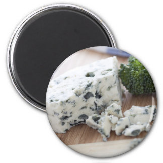 Blue Cheese and Broccoli Magnet