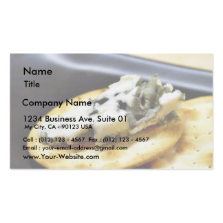 Blue Cheese Roquefort Business Card