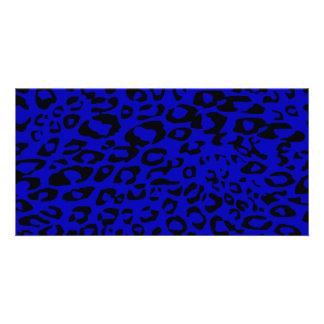 blue cheetah card