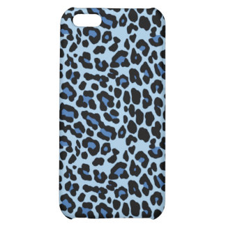 Blue Cheetah iPhone Case Case For iPhone 5C