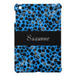 Blue Cheetah Pattern iPad Mini Cover