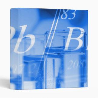 Blue chemistry 3 ring binder