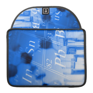 Blue chemistry sleeve for MacBook pro