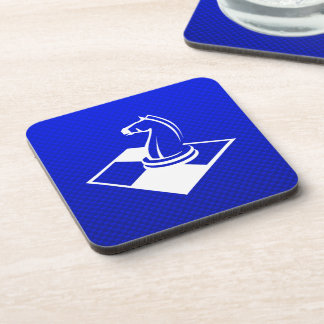 Blue Chess Drink Coaster