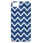 Blue Chevron Iphone 5 Case