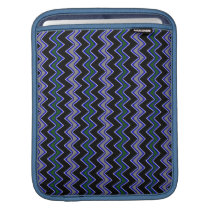 blue chevron pattern sleeve for iPads
