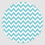 Blue Chevron Stickers