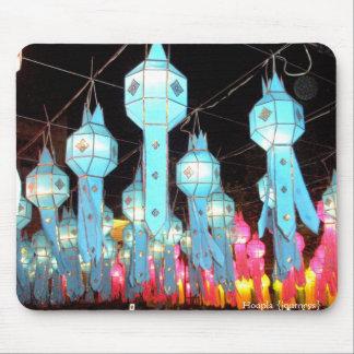 Blue Chiang Mai Mousepads