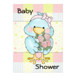 Blue Chick Custom Baby Shower Invitation