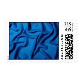 Blue chiffon texture stamp