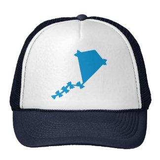 Blue children kite trucker hat