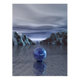 Blue Chill Postcard