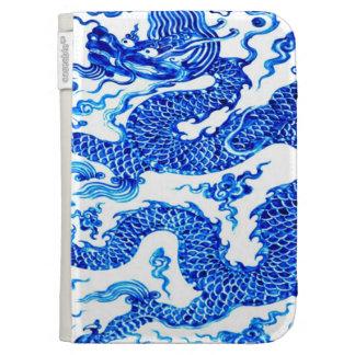Blue Chinese Dragon Antiqie Vase Art Kindle 3 Case Kindle Cover