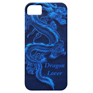 Blue Chinese Dragon iPhone SE/5/5s Case