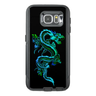 Blue Chinese Dragon Otterbox Samsung S6 Case