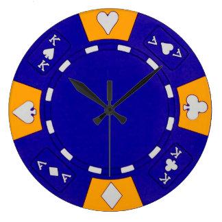 Blue Chip Clock