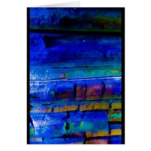 """Blue Chip"" JTG Art Greeting Card"