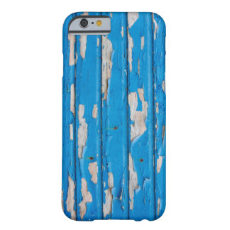 Blue Chipped Paint Grunge Texture Case Barely There iPhone 6 Case