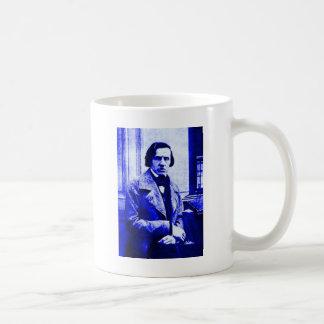 Blue Chopin Coffee Mug