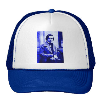 Blue Chopin Hat