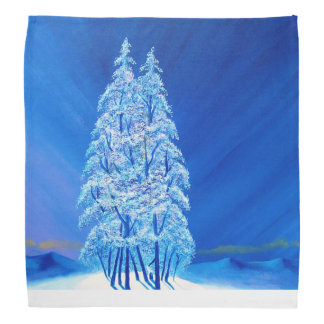 Blue Christmas # 2 Bandana