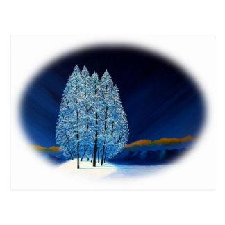 Blue Christmas #6 Postcard