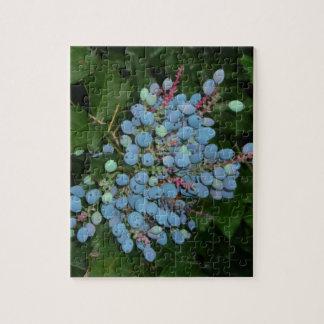 Blue Christmas Berries Puzzle