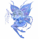 "Blue Christmas Fairy Ornament<br><div class=""desc"">A gorgeous Christmas Fairy in shades of blue!</div>"