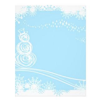 "Blue Christmas 8.5"" X 11"" Flyer"