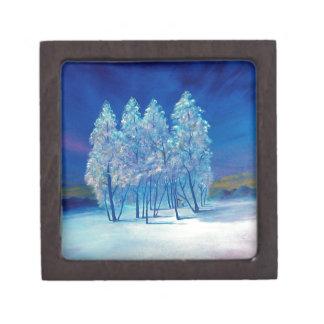 Blue Christmas Gift Box Premium Gift Box