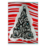 Blue Christmas Greeting Cards