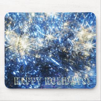 Blue Christmas Mousepad