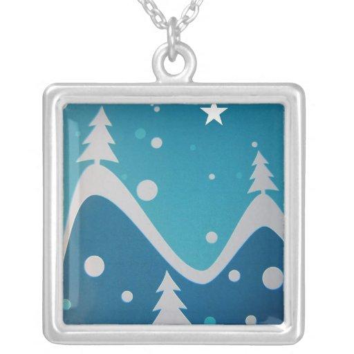 Blue Christmas Pendant