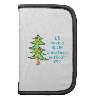 Blue Christmas Planner