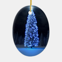 blue christmas, digital blasphemy, ryan bliss, season of light, digital art, ornaments, Ornamento com design gráfico personalizado