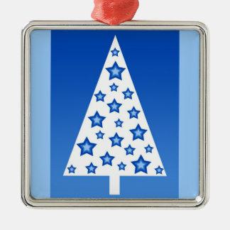 Blue christmas tree - Ornament