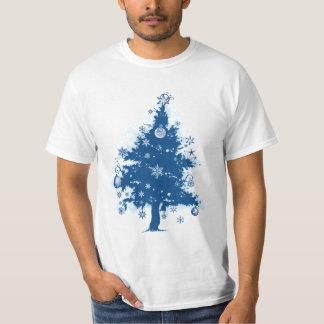 Blue Christmas Tree T-shirt