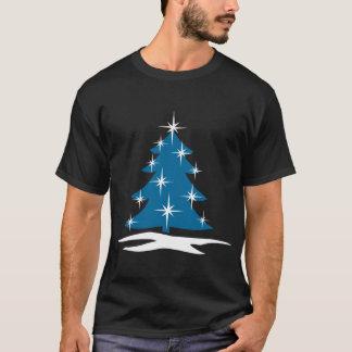 Blue Christmas Tree T-shirt Unisex Holiday Top