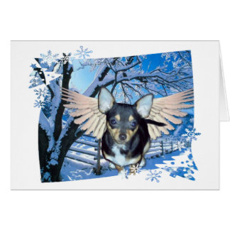 Blue Christmas Without You! Greeting Card