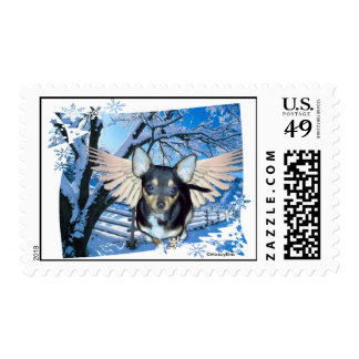 Blue Christmas Without You! Stamp