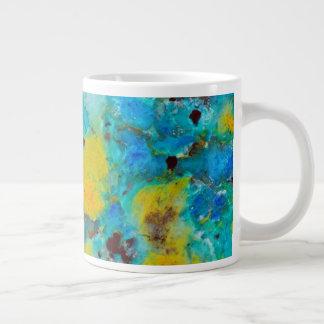 Blue Chrysocolla Jasper Giant Coffee Mug