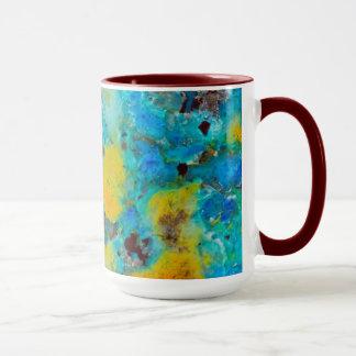 Blue Chrysocolla Jasper Mug