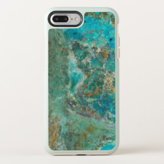 Blue Chrysocolla Stone Image OtterBox Symmetry iPhone 8 Plus/7 Plus Case