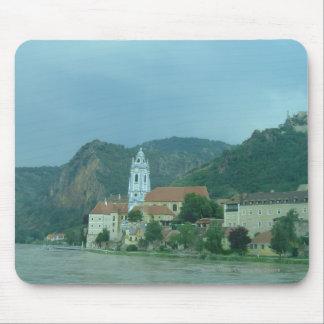 Blue Church in Dürnstein Mouse Pad