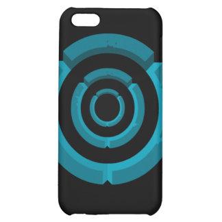 blue circle iPhone 5C cases